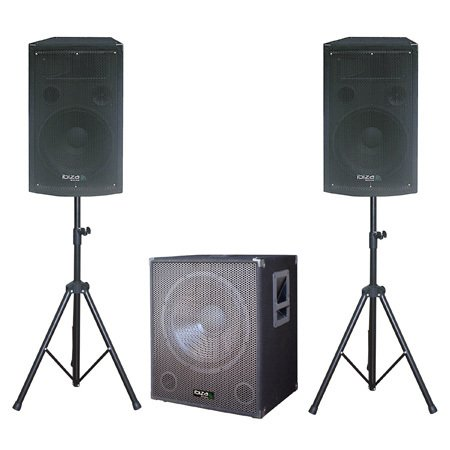 Sistem audio 2 sateliti 12 inch